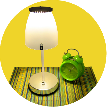 LED's de luz branca amarelada 3000K