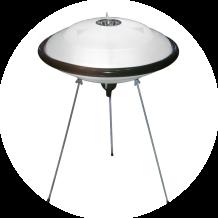 Premiada Disco Voador versão LED. Compre este produto na loja virtual pelo link: http://www.solar.net.br/disco-voador-led-luminaria-de-mesa-ou-piso-p82