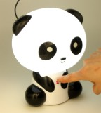 abajur panda USB