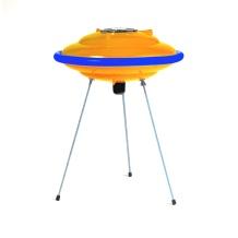premiada DISCO VOADOR -tampa de lixeira, mangueira de jardim, ralo do chuveiro. Compre na loja virtual pelo link: http://www.solar.net.br/disco-voador-luminaria-de-mesa-ou-piso-p45