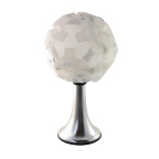 ICE-BALL -incrível cúpula modular de encaixe, versões pedestal, pendente ou conjuntos por encomenda. Compre na loja virtual pelo link: http://www.solar.net.br/ice-ball-luminaria-de-mesa-p75