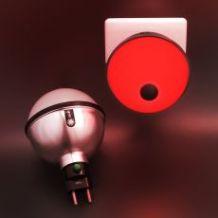 BROTO de tomada retro LED 1w. Compre este abajur na loja virtual pelo link: http://www.solar.net.br/broto-led-de-tomada-p132