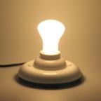 lâmpada incandescente 60w leitosa tradicional