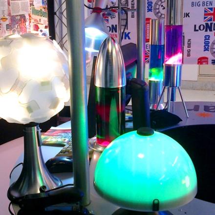 luminárias de LED de alta potência