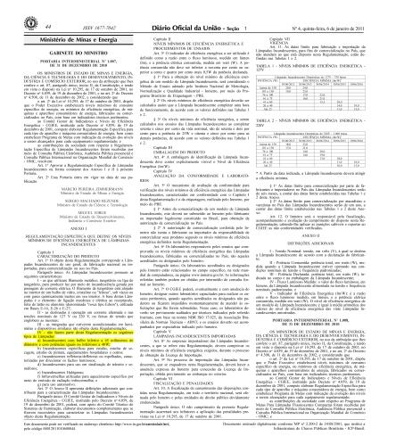 portaria interministerial 1007-2010 06-01-2011 cópia