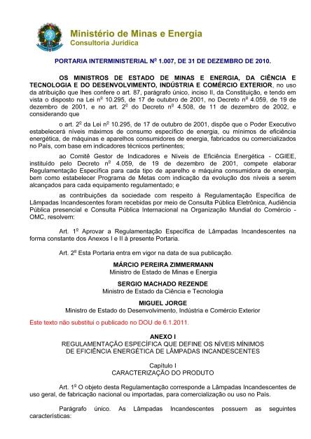 portaria interministerial 1007-20101 1