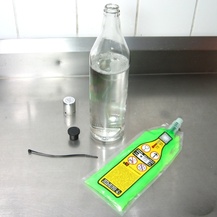 1. -precisaremos abrir a garrafa