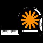 fita métrica cópia