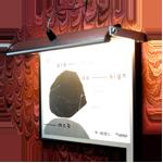 luminária ASA para quadros p