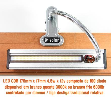 Super eficiente LED COB de 4,5w e 100 diodos