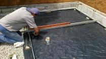 11 dias - nivelamento dos gabaritos do piso