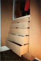 drawer wardrobe