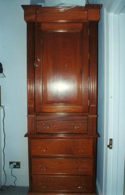 mahogany wardrobes 2