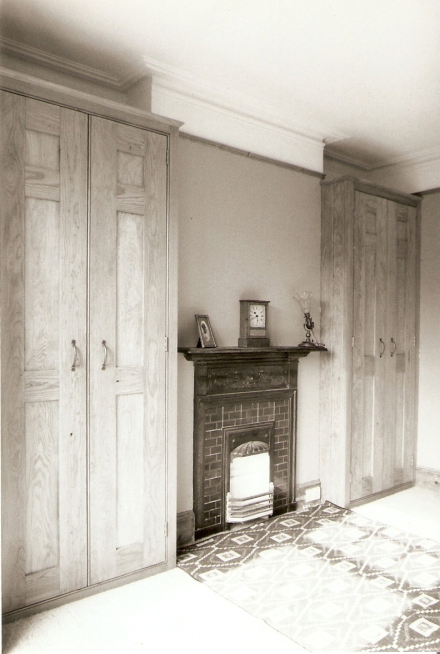 pitch pine wardrobes