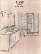 sketch bathroom 1995