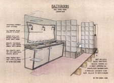 sketch bathroom b 1995